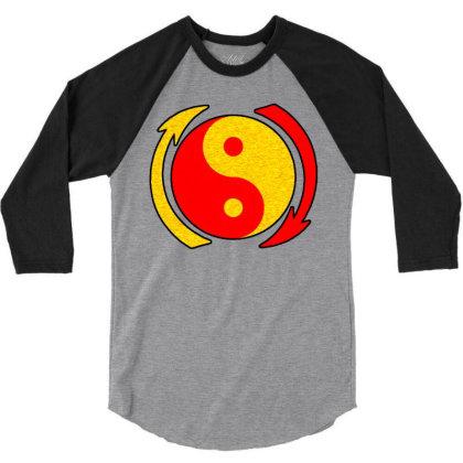 Yan Yang Mantra 3/4 Sleeve Shirt Designed By Zig Street