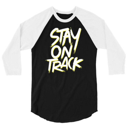 Stay On Track 3/4 Sleeve Shirt Designed By Dulart