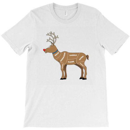 Reindeer Meat T-shirt Designed By Papipupepo