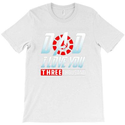 I Love You Three Thousand T-shirt Designed By Dyona Asmarani