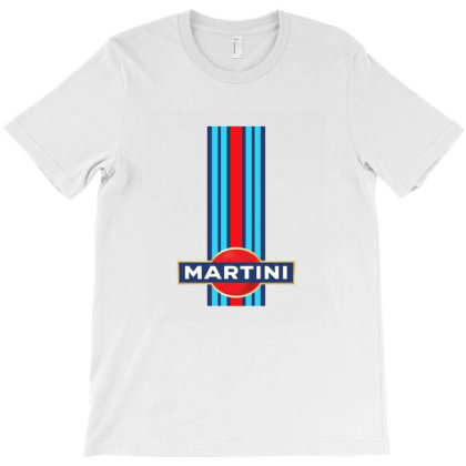 Martini Racing Retro T-shirt Designed By Dyona Asmarani