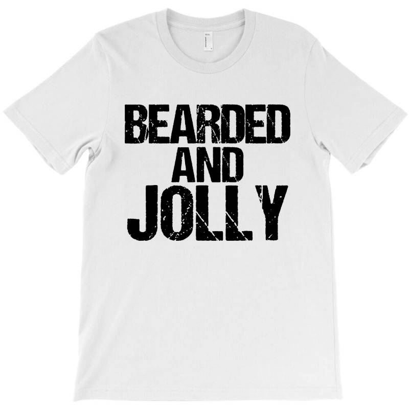 Funny Christmas  Bearded And Jolly T-shirt | Artistshot