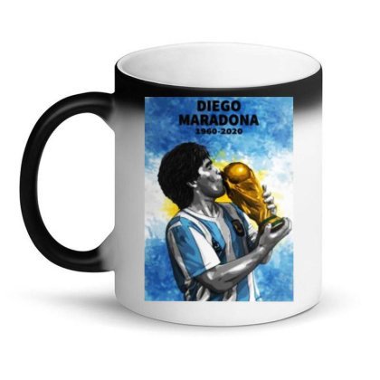 Diego Armando Maradona The Legend Magic Mug Designed By Jurdex Tees