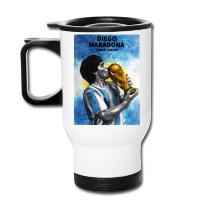 Diego Armando Maradona The Legend Travel Mug Designed By Jurdex Tees