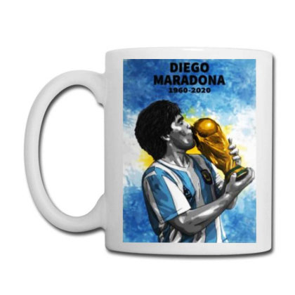 Diego Armando Maradona The Legend Coffee Mug Designed By Jurdex Tees