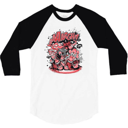Bowling 3/4 Sleeve Shirt Designed By Chiks