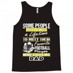 football player's dad - father's day - dad shirts Tank Top | Artistshot