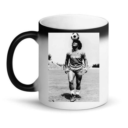 Diego Armando Maradona Napoli Calcio Magic Mug Designed By Jurdex Tees