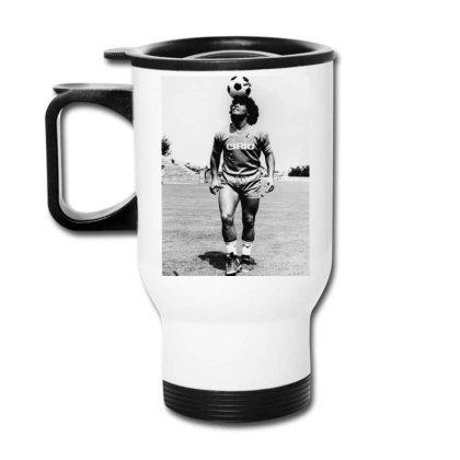 Diego Armando Maradona Napoli Calcio Travel Mug Designed By Jurdex Tees