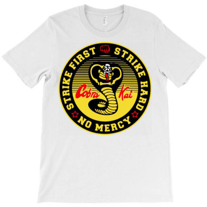 Cobra Kai The Karate T-shirt Designed By Welcome12