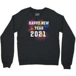 Happy New Year 2021 With Fireworks Crewneck Sweatshirt Designed By Sukhendu12