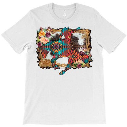 Bronc Rider T-shirt Designed By Badaudesign