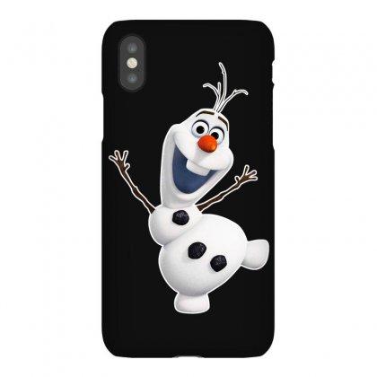 Olaf Snowman Frozen Iphonex Case Designed By Jafarnr1966
