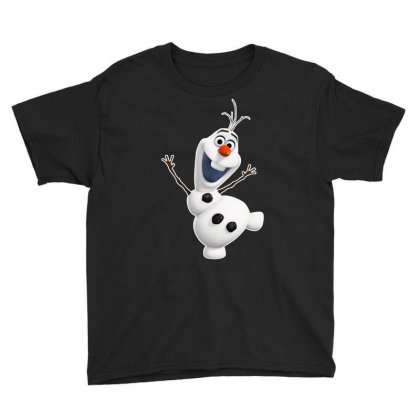 Olaf Snowman Frozen Youth Tee Designed By Jafarnr1966