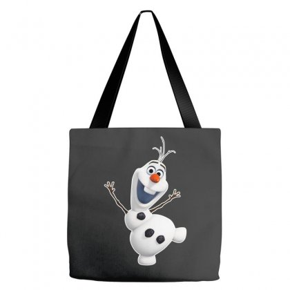 Olaf Snowman Frozen Tote Bags Designed By Jafarnr1966