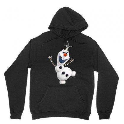 Olaf Snowman Frozen Unisex Hoodie Designed By Jafarnr1966