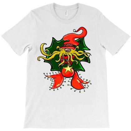 Gnome Ornament T-shirt Designed By Badaudesign