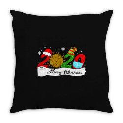 Quarantine Christmas Merry Christmas 2020 Throw Pillow Designed By Blackfire