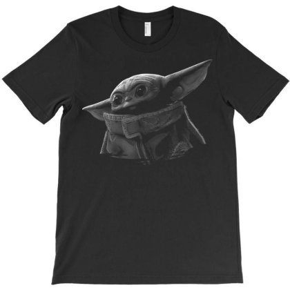 The Child Black & Grey T-shirt Designed By Welcome12