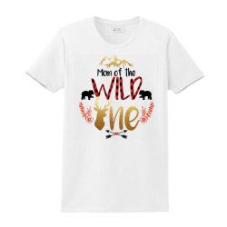 Mom Of The Wild One Ladies Classic T-shirt Designed By Samlombardie