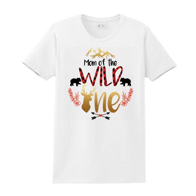 Mom Of The Wild One Ladies Classic T-shirt | Artistshot