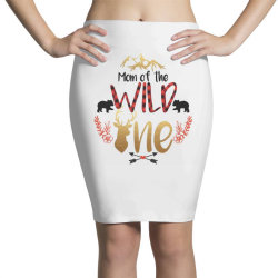 Mom Of The Wild One Pencil Skirts | Artistshot