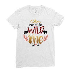 Mom Of The Wild One Ladies Fitted T-Shirt | Artistshot