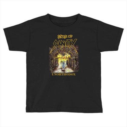 Edge Of Sanity Unorthodox Toddler T-shirt Designed By Funtee