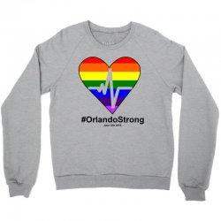 One Pulse Orlando June 12, 2016 - Orlando Strong Crewneck Sweatshirt | Artistshot