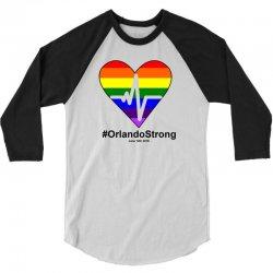 One Pulse Orlando June 12, 2016 - Orlando Strong 3/4 Sleeve Shirt | Artistshot