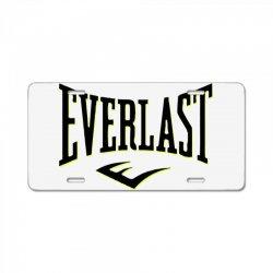 origin8   everlast sport License Plate | Artistshot