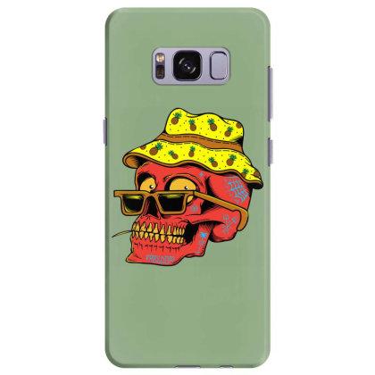 Skull With Hat Samsung Galaxy S8 Plus Case Designed By Alqamar