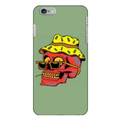 Skull With Hat Iphone 6 Plus/6s Plus Case Designed By Alqamar