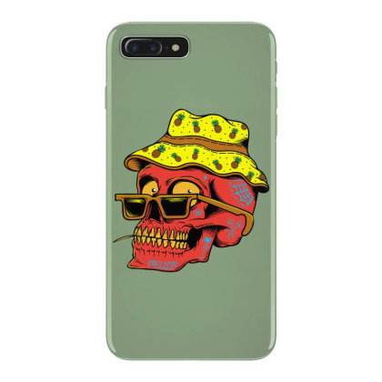 Skull With Hat Iphone 7 Plus Case Designed By Alqamar