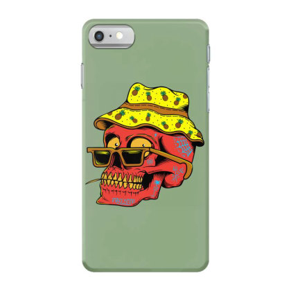 Skull With Hat Iphone 7 Case Designed By Alqamar
