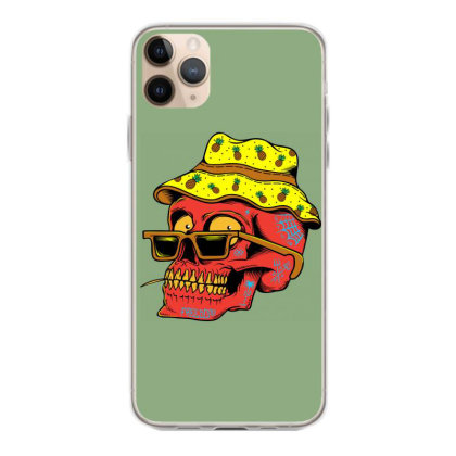 Skull With Hat Iphone 11 Pro Max Case Designed By Alqamar