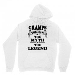 Gramps The Man The Myth The Legend Unisex Hoodie   Artistshot