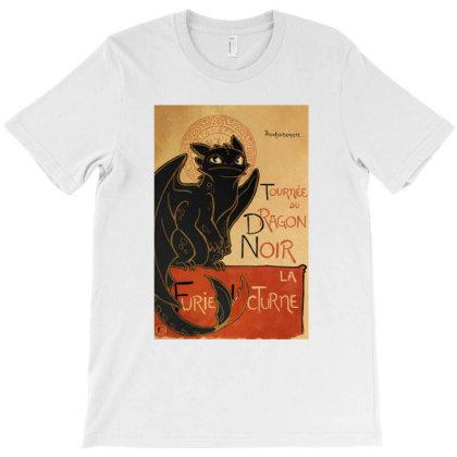 Dragon Noir T-shirt Designed By Ria Amarzhani