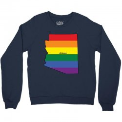 arizona rainbow flag Crewneck Sweatshirt | Artistshot