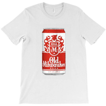 Old Milwaukee Beer T-shirt Designed By Ria Amarzhani