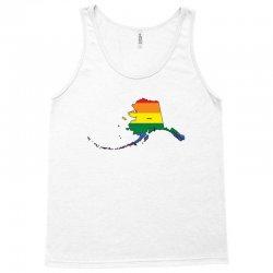 alaska rainbow flag Tank Top | Artistshot