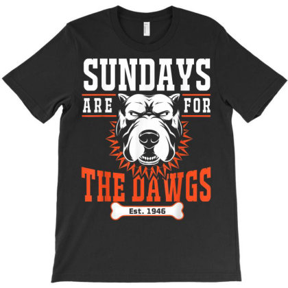 Sundays Are For The Dawgs T-shirt Designed By Welcome12