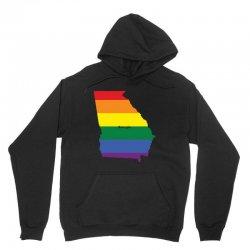 georgia rainbow flag Unisex Hoodie | Artistshot