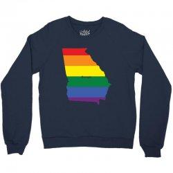 georgia rainbow flag Crewneck Sweatshirt | Artistshot