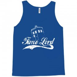 time lord white Tank Top | Artistshot
