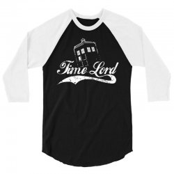 time lord white 3/4 Sleeve Shirt | Artistshot