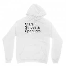 stars, stripes and sparklers 4th of july Unisex Hoodie | Artistshot