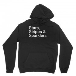stars, stripes and sparklers 4of july w Unisex Hoodie | Artistshot