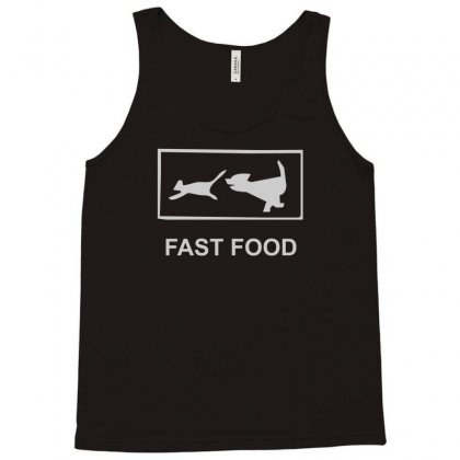 Fast Food Funny Tank Top Designed By Henz Art