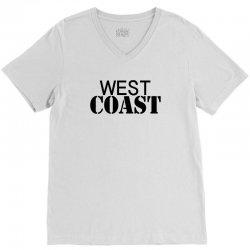 west coast V-Neck Tee | Artistshot
